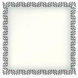 Decoratieve elementen in uitstekende stijl voor decoratielay-out, fram Stock Fotografie
