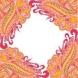 Decoratieve elementengrens, kader stock illustratie