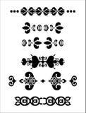 Decoratieve elementenverdelers Royalty-vrije Stock Afbeelding