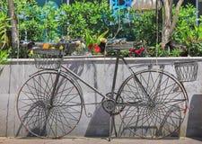 Decoratieve fiets royalty-vrije stock afbeeldingen