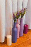 Decoratieve fles Royalty-vrije Stock Afbeeldingen