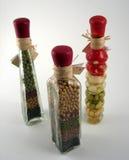 Decoratieve flessen Royalty-vrije Stock Foto's
