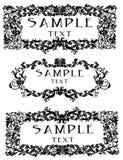 Decoratieve frames of grenzen Royalty-vrije Stock Foto