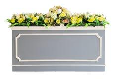 Decoratieve geïsoleerde bloem Royalty-vrije Stock Foto's
