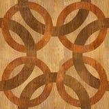 Decoratieve gemengde cirkels - naadloze achtergrond vector illustratie