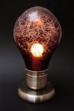 Decoratieve gloeilampenlamp Stock Foto's