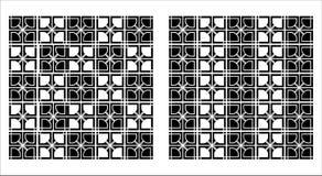 Decoratieve grafische patroonachtergrond Royalty-vrije Stock Afbeeldingen