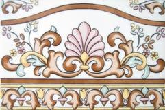 Decoratieve grens royalty-vrije stock fotografie