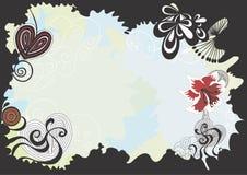 Decoratieve grens royalty-vrije illustratie