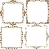 Decoratieve grens Royalty-vrije Stock Afbeeldingen