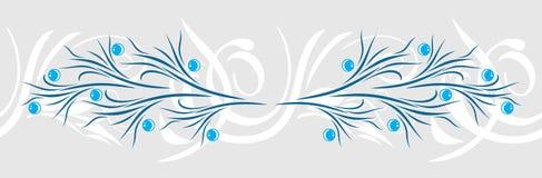 Decoratieve Grens Uitstekend ontwerp Royalty-vrije Stock Foto's