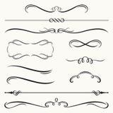 Decoratieve Grenzen en Frames Royalty-vrije Stock Afbeeldingen