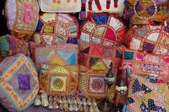 Decoratieve hoofdkussens Royalty-vrije Stock Foto's