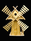 Decoratieve houten molen Royalty-vrije Stock Afbeelding