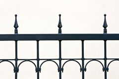 Decoratieve ijzerlatice Stock Foto's