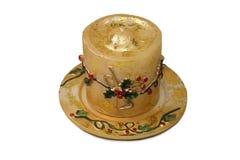 Decoratieve kaars Royalty-vrije Stock Foto