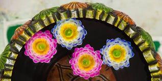 Decoratieve kaarsen Royalty-vrije Stock Foto