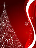 Decoratieve Kerstboom Royalty-vrije Stock Foto's