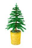 Decoratieve Kerstmisboom royalty-vrije stock foto