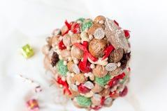 Decoratieve Kerstmisboom Stock Afbeelding