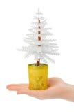 Decoratieve Kerstmisboom ter beschikking royalty-vrije stock afbeelding