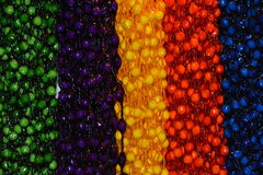 Decoratieve Kettingen van Sugar Onions Stock Fotografie