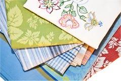 Decoratieve Keuken Linens Stock Foto's