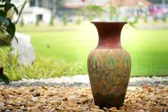 Decoratieve kleivazen Royalty-vrije Stock Afbeelding