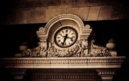 Decoratieve klok Royalty-vrije Stock Afbeeldingen