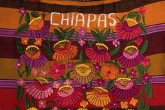 Decoratieve kunst van chiapas royalty-vrije stock afbeeldingen