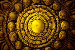 Decoratieve Kunst van Lanna Thai. royalty-vrije stock fotografie