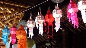 Decoratieve Lantaarns voor het Lantaarnfestival stock afbeeldingen