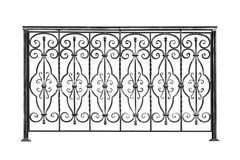 Decoratieve leuningen, omheining Royalty-vrije Stock Foto's