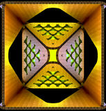 Decoratieve lichte abstracte achtergronden 3D Illustratie Royalty-vrije Stock Foto's