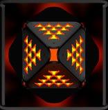 Decoratieve lichte abstracte achtergronden 3D Illustratie Royalty-vrije Stock Afbeelding
