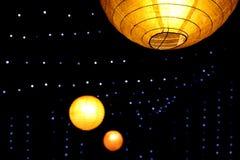 Decoratieve Lichten Royalty-vrije Stock Fotografie