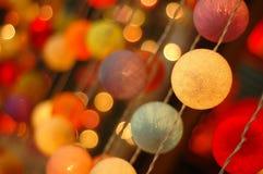 Decoratieve lichten Stock Afbeelding