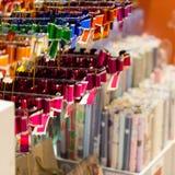 decoratieve linten en documenten opslag Stock Foto's