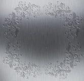 Decoratieve metaaltextuur Stock Afbeeldingen