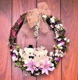 Decoratieve mooie beren Stock Foto's