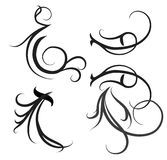 Decoratieve motieven royalty-vrije stock foto's