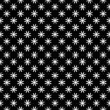 Decoratieve Naadloze Bloemen diagonale Geometrische Zwarte & Witte Patroonachtergrond Ingewikkeld, materiaal vector illustratie