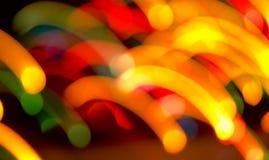 Decoratieve neonlichten Stock Fotografie