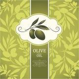 Decoratieve olijftak Stock Afbeelding
