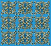 Decoratieve oosterse behangachtergrond Royalty-vrije Stock Foto