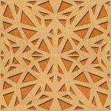 Decoratieve opleverende stijl - Binnenlandse muurdecoratie vector illustratie