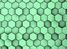 Decoratieve oppervlakteachtergrond in verschillende niveaus withgreenish schaduwen vector illustratie