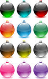 Decoratieve Orbs Stock Foto