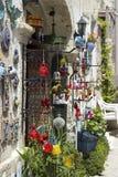 Decoratieve ornamentwinkel Stock Foto