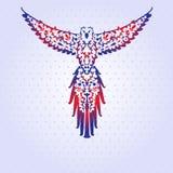 Decoratieve papegaai Royalty-vrije Stock Foto's